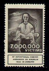 ukraine stamps 1922  famine death in ukraine