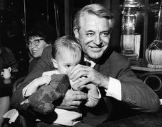 For most of the world, Cary Grant was a Hollywood icon, but to Jennifer Grant he was simply Dad. Grant chronicles her close relationship with her father in her new book, Good Stuff. Hollywood Icons, Hollywood Stars, Classic Hollywood, Old Hollywood, Cary Grant Daughter, Jennifer Grant, Gary Grant, Golden Family, Golden Age