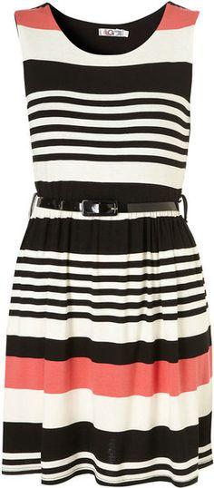Stripe Dress By Wal G - Lyst