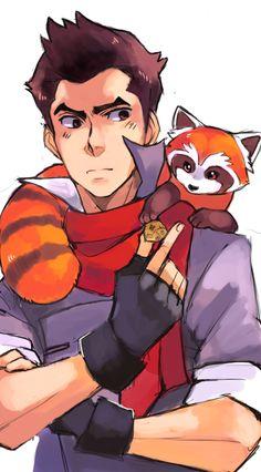 He's not really an actor but... He's so hot ! The legend of Korra - Avatar / Makko.