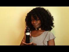 My Natural Hair Regimen Addition - Herbal Hair Oil - YouTube