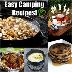 10 Easy Camping Recipes!  Makes camping fun!  This site has lots of great ideas.