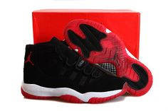 Buy Low Cost Nike Air Jordan Xi 11 Retro Bred Nubuck Mens Shoes Black Red  from Reliable Low Cost Nike Air Jordan Xi 11 Retro Bred Nubuck Mens Shoes  Black ... 6e66281ee00e