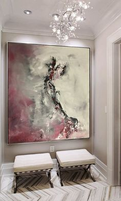 Large Abstract Painting Print Art от juliakotenko на Etsy