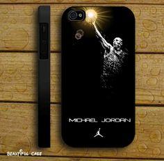 Michael Jordan jumpman for iPhone 4/4s/5/5s/5c, Samsung Galaxy s3/s4 case