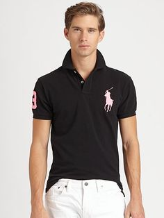 Love the giant pony. Polo Store, Polo Shirt Outfits, Preppy Style, My Style, Men Dress Up, Cruise Wear, Mens Outfitters, Formal, Polo Ralph Lauren