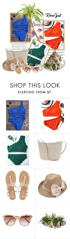 """Untitled #696"" by selmabjelic ❤ liked on Polyvore featuring Head Over Heels by Dune, Victoria Beckham and Uttermost"