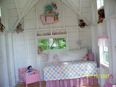 The boys would never let ollie have this in the treehouse! Maybe in a few years