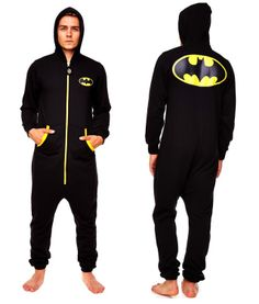Batman Onesie. They have a whole line of pop culture/geeky onesies. I neeeeds them!