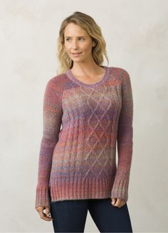 I love the prAna Leisel Sweater! Check it out and more at www.prAna.com