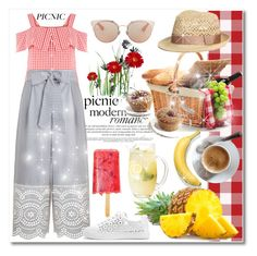"""""""Picnic in the Park!"""" by mellie-m ❤ liked on Polyvore featuring Zimmermann, WithChic, Christian Dior, picnic, polyvoreeditorial and polyvorecontest"""