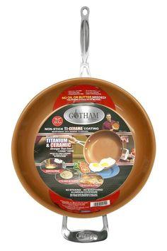 GOTHAM STEEL 12.5 inches Non-stick Titanium Frying Pan by Daniel Green