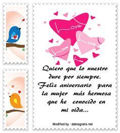 descargar frases de aniversario de novios,descargar imàgenes de aniversario de novios: http://www.datosgratis.net/palabras-de-feliz-aniversario-para-mi-amor/