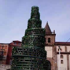 #gijon #asturias #festival #sidra #botellas #arbol #bottles #tree Web Instagram User » Followgram