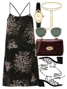 """Untitled #5890"" by rachellouisewilliamson on Polyvore featuring Topshop, MANGO, Vivienne Westwood and Ray-Ban"