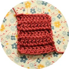Crochet Corner: STITCH DIRECTORY . Working into the Back Loop (BL)