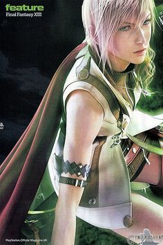 Lightning - Final Fantasy XIII | scans final fantasy XIII | Flickr