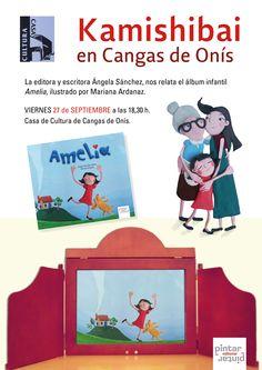 El viernes 27 de septiembre, KAMISHIBAI en la Casa de Cultura Cangas de Onís