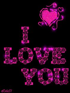 I love you Love Heart Images, I Love You Images, Love You Gif, I Love You Baby, Love Kiss, My Love, Cute Love Quotes, Romantic Love Quotes, I Miss You Wallpaper