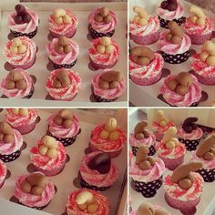 These bad boys are off to party now! Amber Davis, Party Cupcakes, Vanilla Cupcakes, Hens, Have A Great Day, Bad Boys, Instagram Posts, Desserts, Food