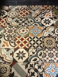 Patchword mix collection - CTS Cement tiles.