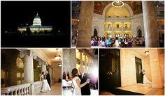 The Utah State Capitol wedding #utweddings