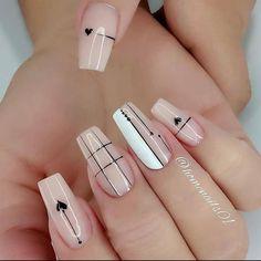 Acrylic Nails Coffin Pink, Square Acrylic Nails, Acrylic Nail Designs, Pink Nails, Gel Nails, Chic Nails, Stylish Nails, Swag Nails, Nagellack Trends