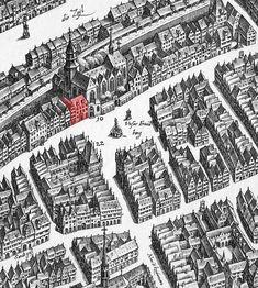 Matthäus Merian d. Ä., 1628: