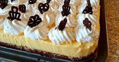 Vaníliás krémes, fenségesen finom diós piskótával – Közösségi Receptek Cheesecake, Desserts, Dios, Mint, Tailgate Desserts, Deserts, Cheese Cakes, Postres, Dessert