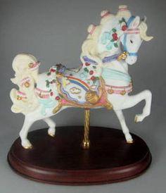 Lenox Rainbow Carousel Horse 1997 with Box
