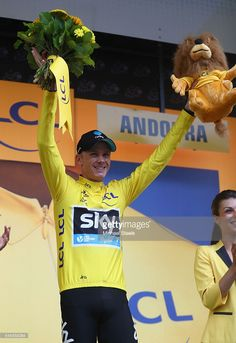 Froome of Great Britain and Team Sky retains his yellow jersey with a sixteen seconds lead after the 184.5 km stage 9 of Le Tour de France from Vielha Val D'Aran to Andorre Arcalis on July 10, 2016 in Andorra la Vella, Andorra.