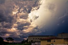 Céu inventado...quando a chuva cai