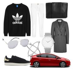 """A modern városi nő"" by domonkos-nagy-parragh on Polyvore featuring adidas Originals, Arme De L'Amour, Current/Elliott, Alexander Wang, Harris Wharf London, Larsson & Jennings, Persona, Yves Saint Laurent, modern and women's clothing"