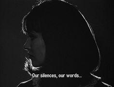 Nossos silêncios,as nossas palavras...