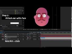 HOw to rig a face in after effects - YouTube