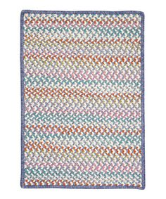 Take a look at this Tutu Purple Color Frenzy Rug by Colonial Mills on #zulily today!