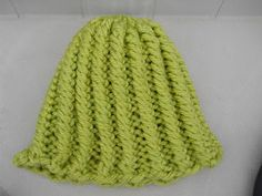 Knitting with Schnapps: Introducing Let There Be Rows: A One Row Hat!