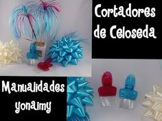 FLORES HECHAS CON CELOSEDA.- PLASTIC RIBBON FLOWERS. - YouTube
