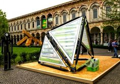 World's First Urban Algae Canopy Produces the Oxygen Equivalent of Four Hectares of Woodland Every Day | Inhabitat - Sustainable Design Inno...