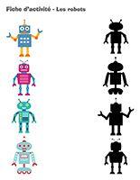 Fiches d'activité-Les robots