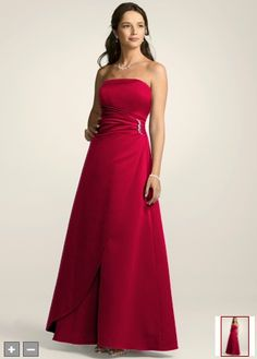 apple red bridesmaid dress - Austin Tx Wedding - Pinterest - Red ...