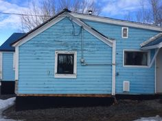 Little Blue House: Spring Thaw - latest post from my Victorian home restoration blog!