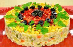 Μαγειρική Πanos: Πατατοσαλάτα τούρτα