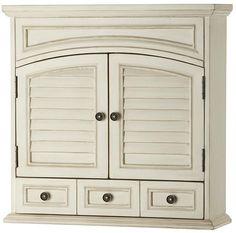 Cape Cod Wall Cabinet - Bathroom Wall Cabinets - Bathroom Cabinets - Bath | HomeDecorators.com