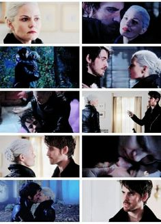 "Captain Swan moments.. 5x10 ""Broken Heart"""