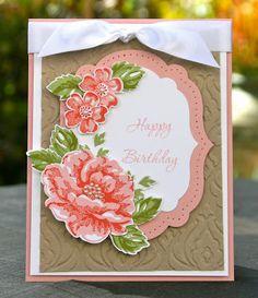 Krystal's Cards: Stampin' Up! Stippled Blossom Retiring Stamps Blog Hop