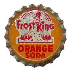 Ghosts Of The Great Highway: Vintage Soda Bottle Cap Artwork