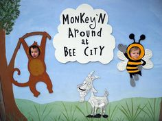 Toddlers Jaydon and Ryley visit Bee City