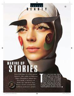 Style, 4th October 2015 [1 of 3] www.lisaeldridge.com #LisaEldridge #makeup #Stylist #beauty #facepaintbook