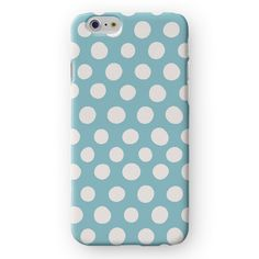 White Dots on Light Blue iPhone 7 Cover by Madotta | This stunning marble design is now available for all iPhones plus some Samsung Galaxy S devices. Made with love in the UK. International shipping available. Fashion iPhone 7 Plus Cases and Covers #madotta See more at https://madotta.com/collections/all/?utm_term=caption+link&utm_medium=Social&utm_source=Pinterest&utm_campaign=IG+to+Pinterest+Auto